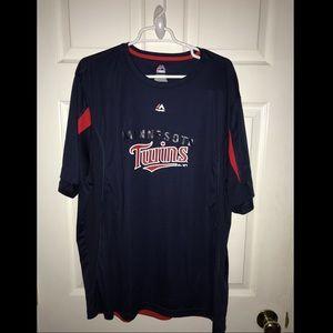 Minnesota twins cool base majestic shirt size 2xl